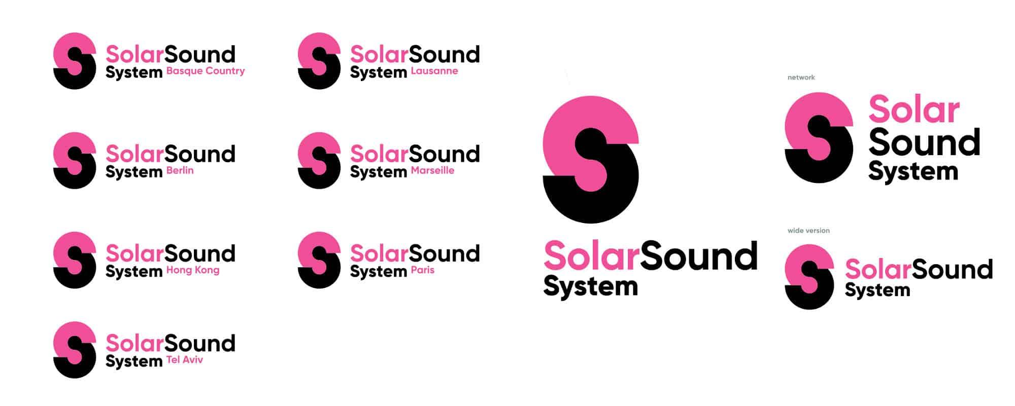 Logos SolarSoundSystem